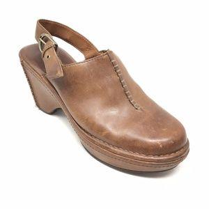 Women's Ariat 22266 Slingback Mules Clogs Size 9B